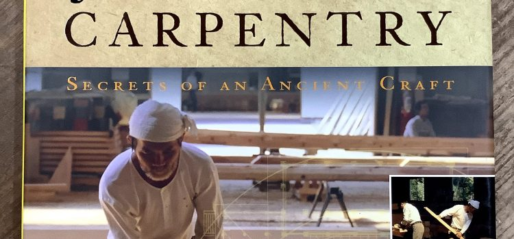 Recommended books:Japanese Carpentry