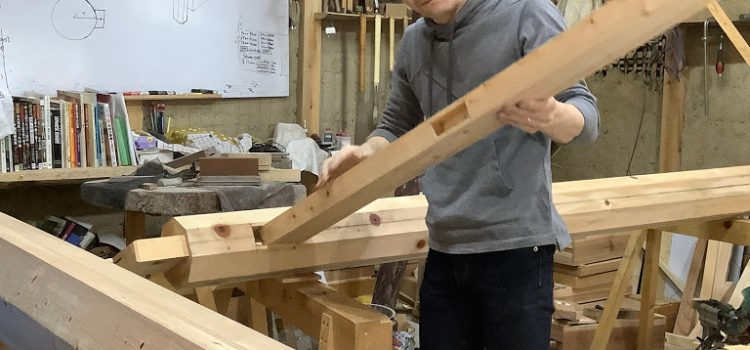 How to Temporary Assembly of the japanese toriigate