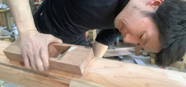 2022 One month Japanese woodworking classes in Île de France